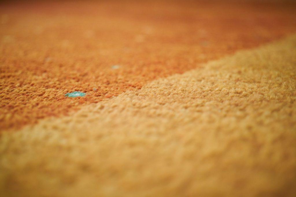 carpet orange