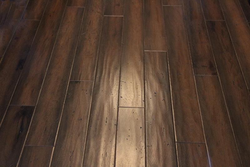 Dark wood Engineered Flooring